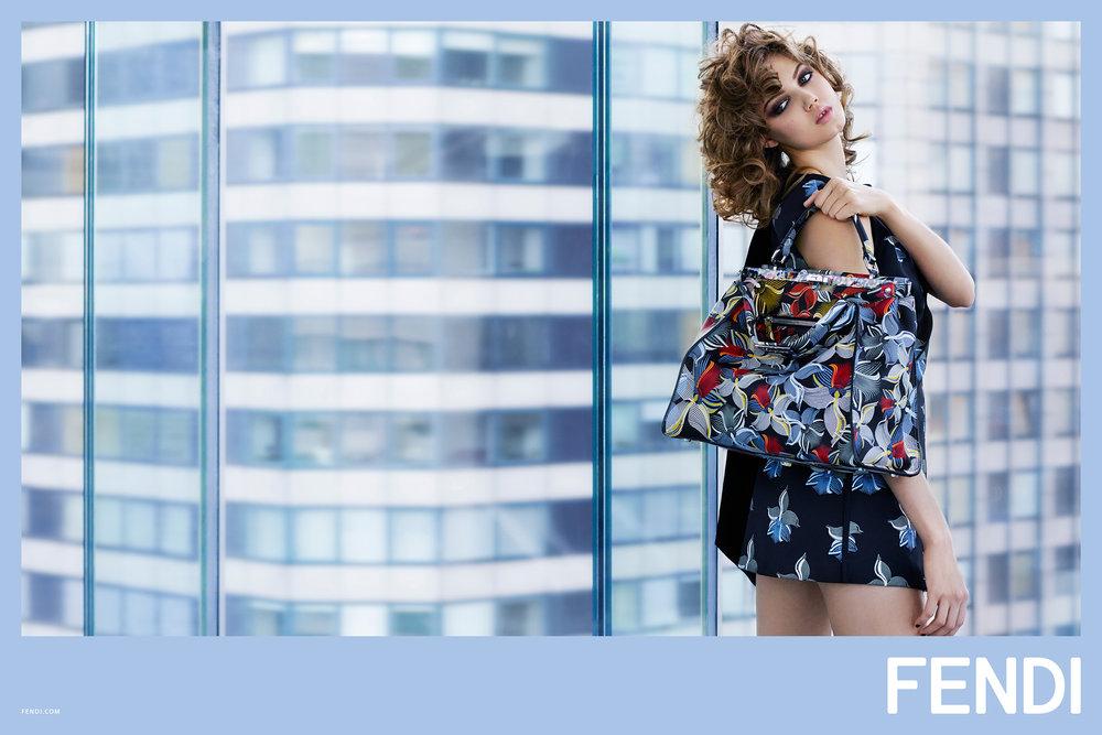 #fendi #karllagerfeld #ss15 #campaign #fashion #nadjabender #lindsaywixson #binxwalton #charlottestockdale #amandaharlech #jimkaemmerling #peterphillips #sammcknight