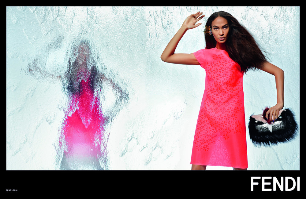 #fendi #karllagerfeld #ss14 #campaign #fashion #nadjabender #joansmalls #charlottestockdale #amandaharlech #jimkaemmerling #tompecheux #sammcknight