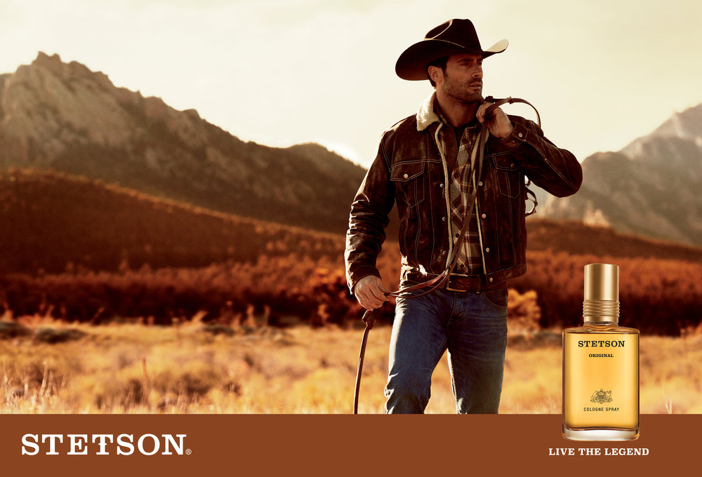 #stetson #fragrance #campaign #coty #jimkaemmerling