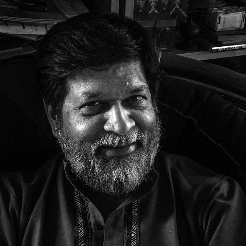 Shahidul Alam, Fotograf, Autor und Kurator, Bangladesch
