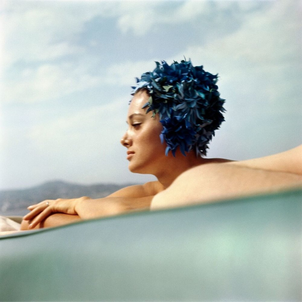 Sylvana Empain, Juan-les-Pins, August 1961 | Photographie J. H. Lartigue © Ministère de la Culture France/AAJHL