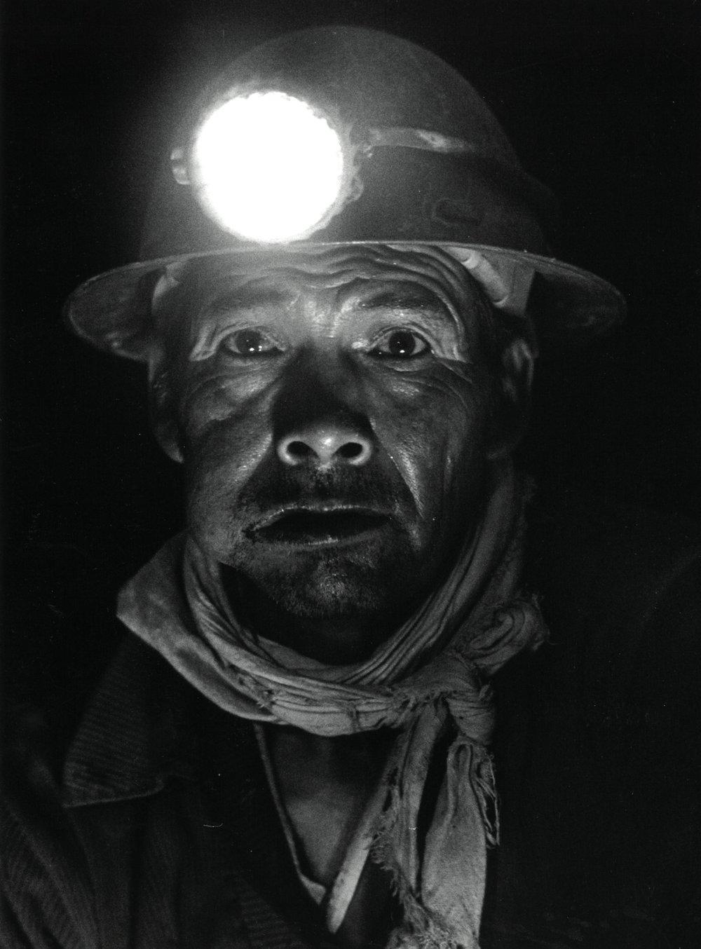 De la série des Mineros, 1984-2001 Photographie argentique, coll. Municipalité de Moutier © Ayants droits