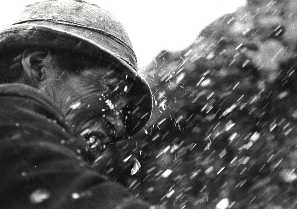 De la série des Hieleros, 1981-1982 Photographie argentique, tirage réalisé par J.-C. Wicky, coll. privée © Ayants droits