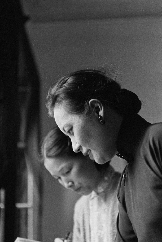Walter Bosshard: Song Meiling, die einflussreiche Gattin von Tschiang Kai-shek, Hankou, 1938 © Fotostiftung Schweiz / Archiv für Zeitgeschichte