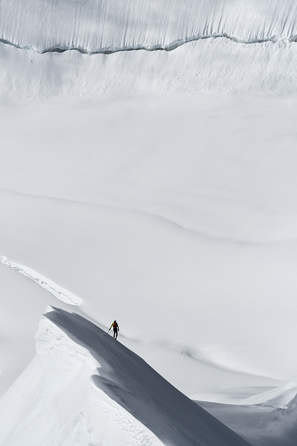 Ueli Steck im Südlichen Eigerjoch, Schweiz, 2016 | Robert Bösch