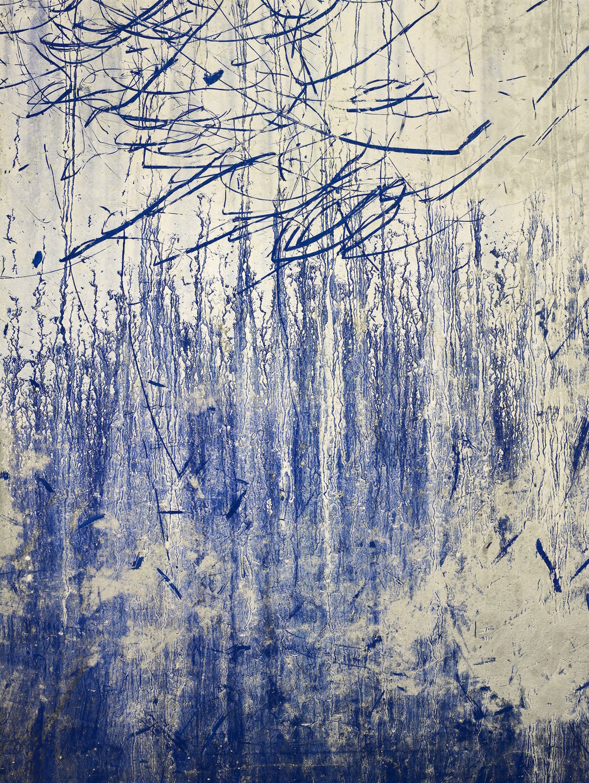 Kris Scholz Marks and Traces, Chongqing 5, 2018 Fine Art Print auf Leinwand, 200 x 150 cm © VG Bild-Kunst, Bonn 2018