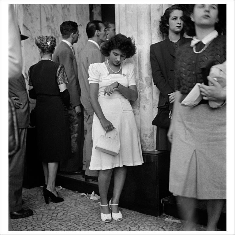 Vor dem Kino, Cinelândia, Rio de Janeiro, 1946 © Victor Hugo Klagsbrunn