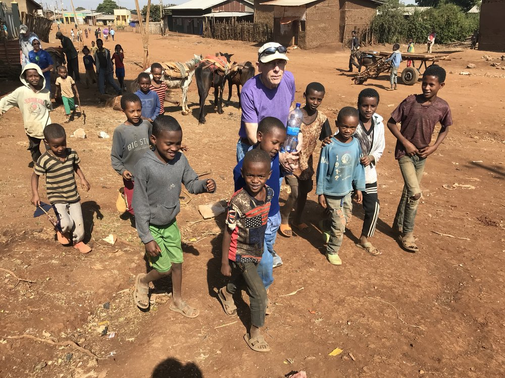 Every time we wandered through the village, we acquired an entourage of children eager to hold our hands and walk with us. It was one of the most memorable and endearing parts of our trip.