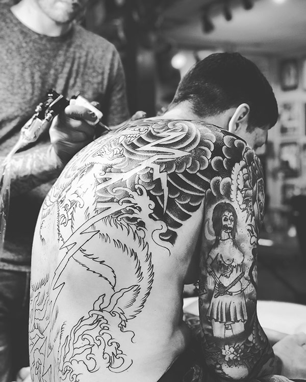 Elliot J. Google Review — Great Wave Tattoo | Austin, Texas