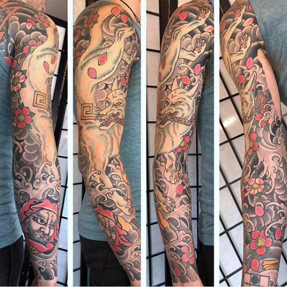 kitsune-tattoo-sleeve-ben-siebert.JPG