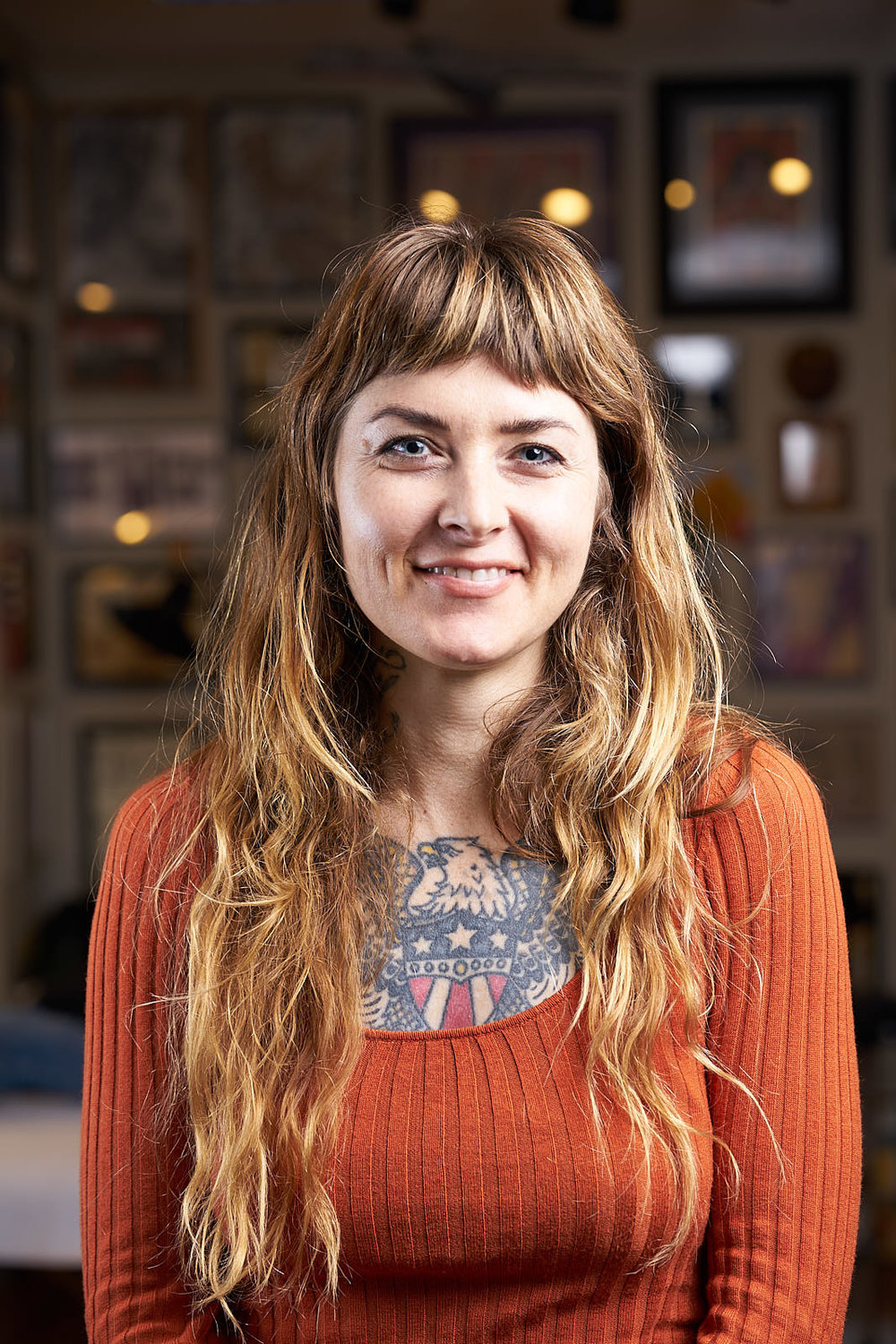 Jennalee Mahan Portrait - Tattooer at Great Wave Tattoo