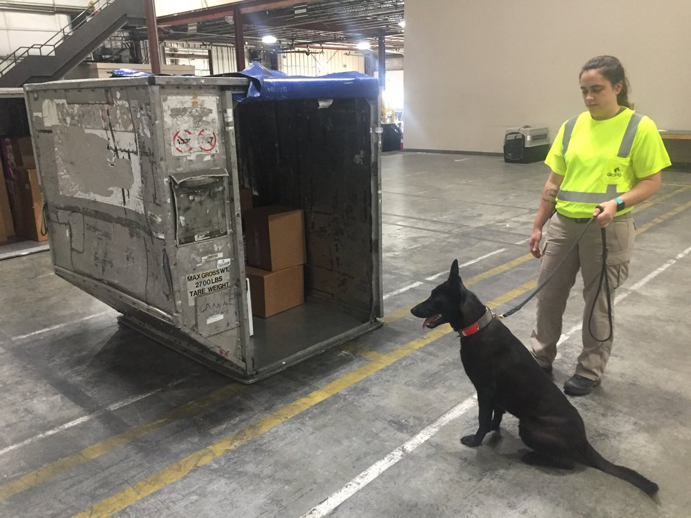 Certified Cargo Screening Facility - K9 Team
