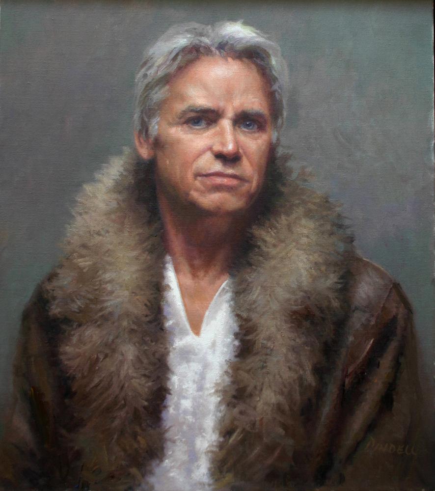 Man With a Fur Collar