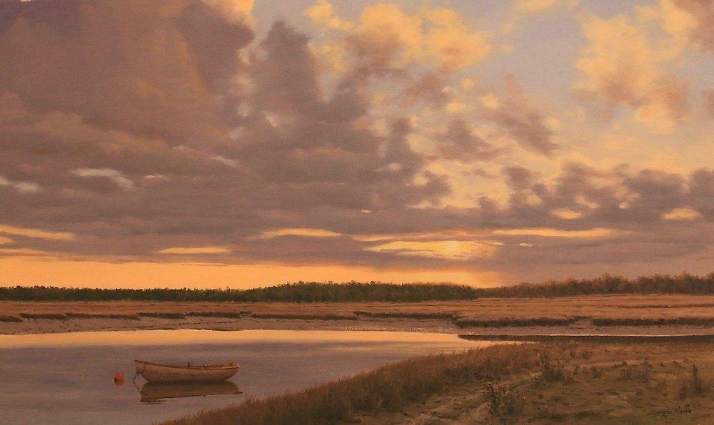 Sunset on the Marsh