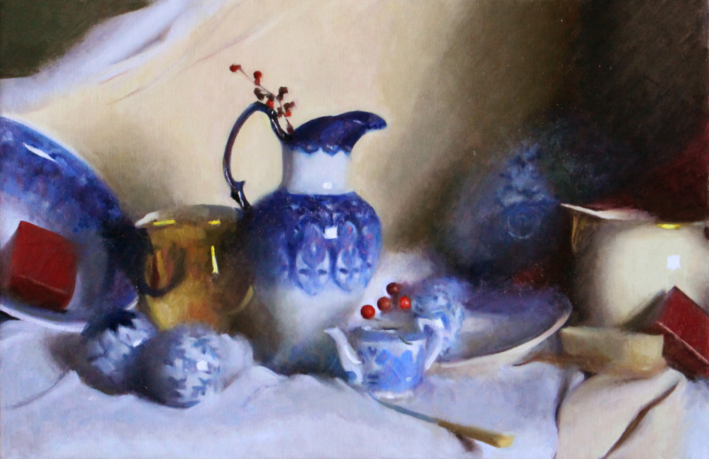 Blue Winter Porcelain