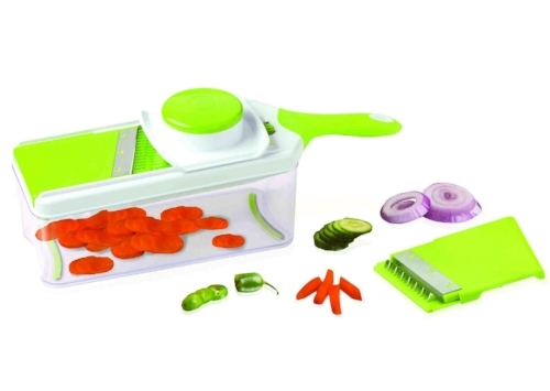 Sharper Image Mandoline Slicer    Model No.: 12SP1006    UPC: 709996669580    Sold from May 2017 to April 2018