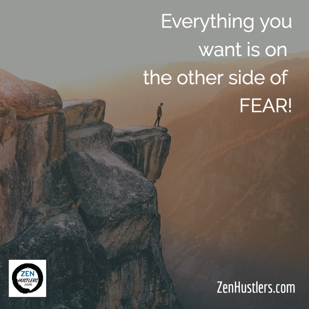 FEAR - What is on the other side for you?