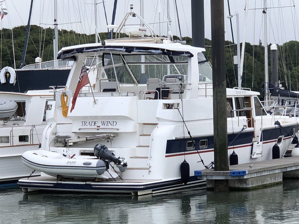 Trade Wind   SUR Marine 260 fitted to a Trader 42 February 2018