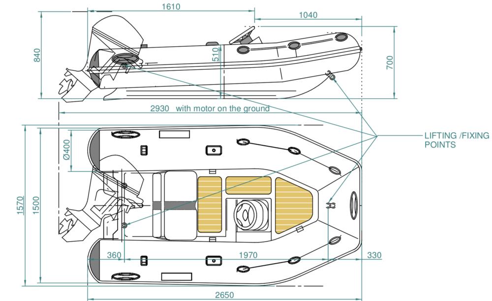 SUR Marine ST260 Classic