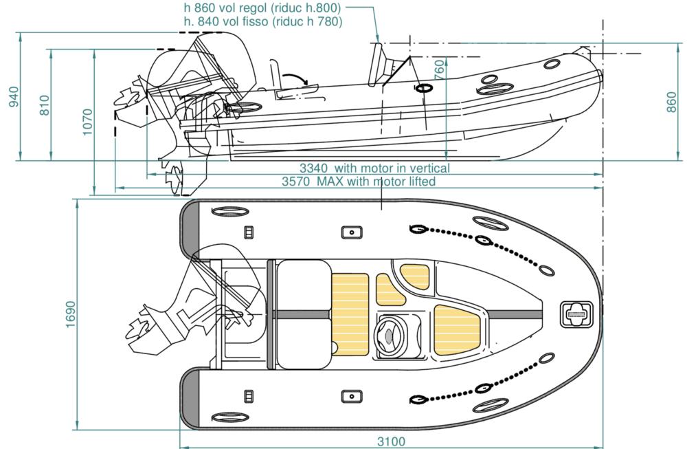 SUR Marine ST310 Classic