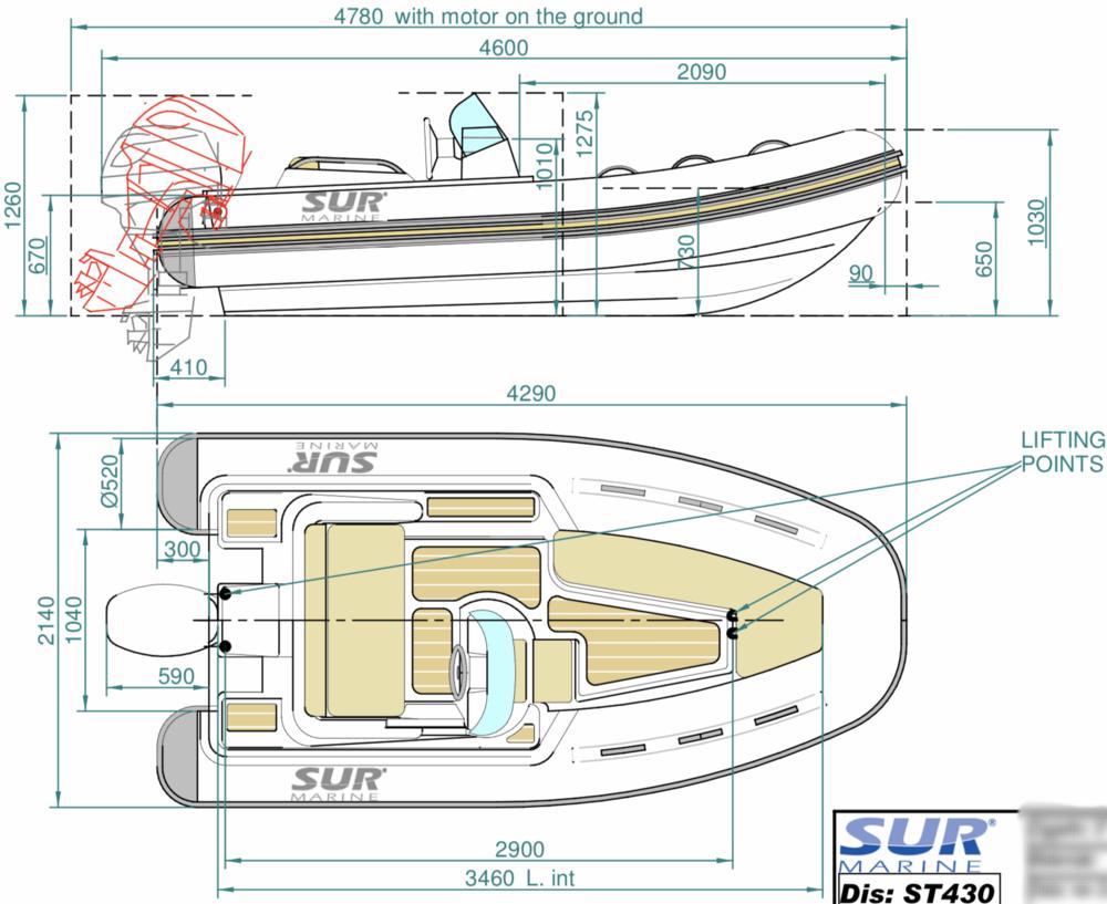 SUR Marine ST430 Presstige