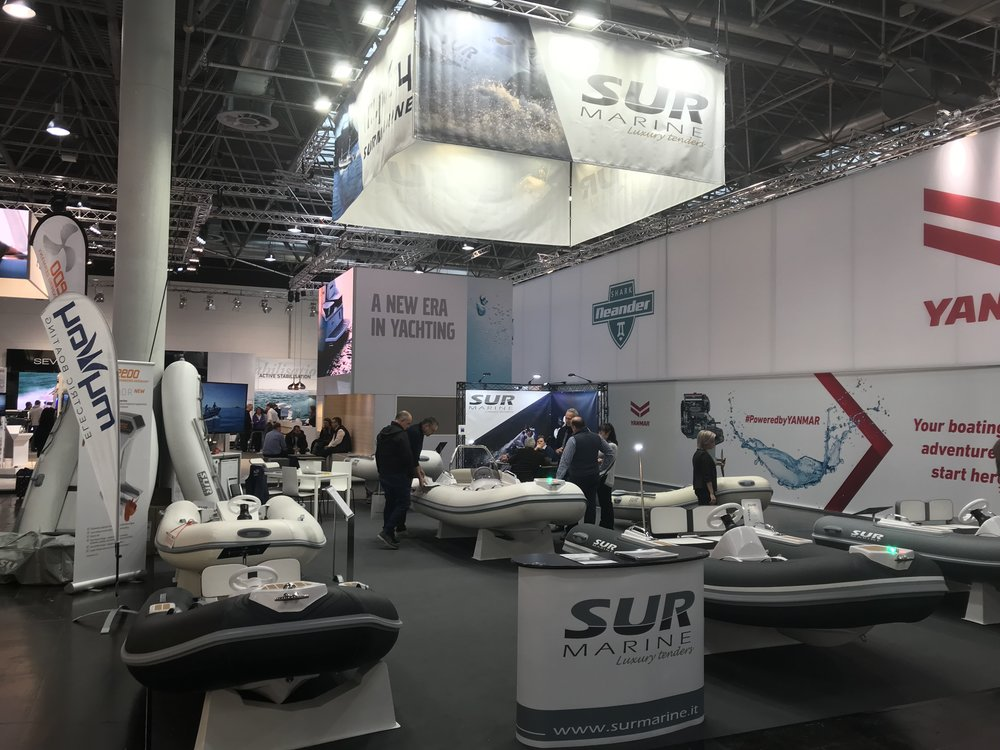SUR Marine Stand for 2019 Dusseldorf Boat show