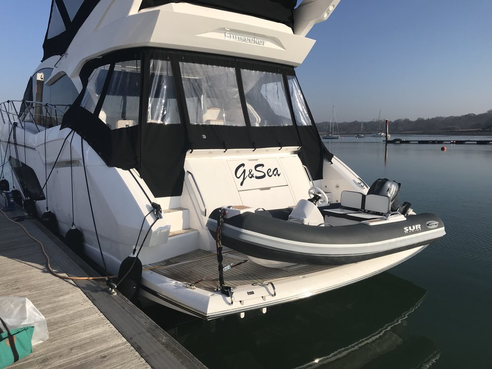 SUR Marine are happy to supply G&Sea Sunseeker 52 a new ST310 Fitted with a Yamaha 20hp  22/02/2019