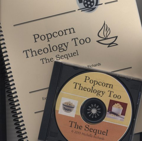 Popcorn Theology Too: The Sequel - This updated and new version serves as a stand alone curriculum or can be paired with other Popcorn Theology for Youth sessions. It also uses movies rated PG or PG-13 to explore theological and ethical issues with middle school or high school age youth with two bonus sessions using R-rated movies. Some of the feature films and the themes explored are:
