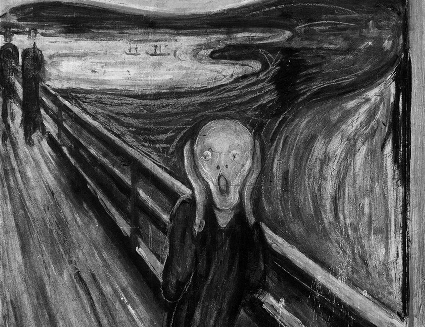 Edvard Munch's painting: The Scream