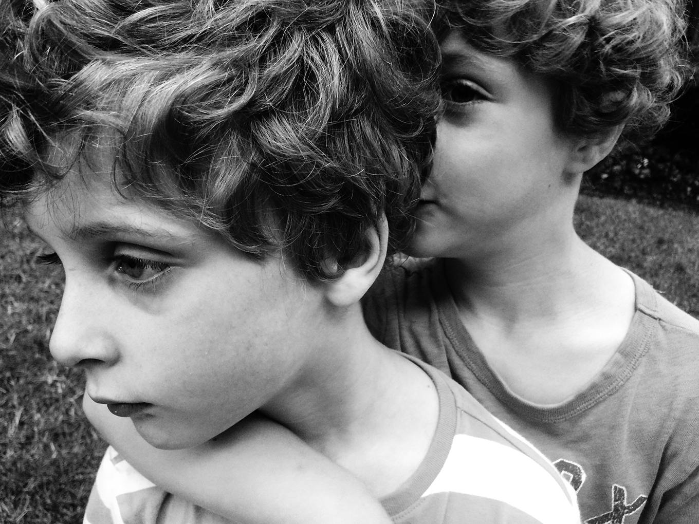 Twins, one with ASD