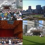 Jay Pritzker Pavilion - Architect: Frank GehryAddress: 201 E. Randolph Street
