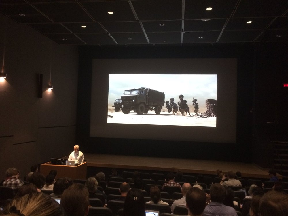 """Fig. 2 - Thomas Lamarre's opening keynote paper on the """"Then"""" of animation."""
