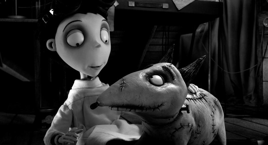 Fig. 2 -  Frankenweenie  (Tim Burton, 2012).