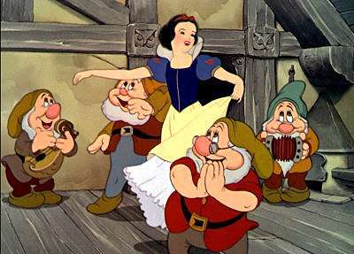 Snow White and the Seven Dwarfs  (David Hand, 1937).