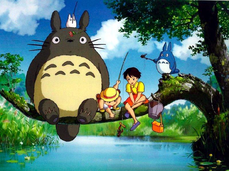 My Neighbor Totoro  (Hayao Miyazaki, 1988)