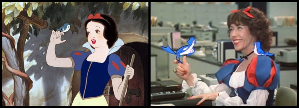 Fig. 3 -  Snow White and the Seven Dwarfs  and  9 to 5 .