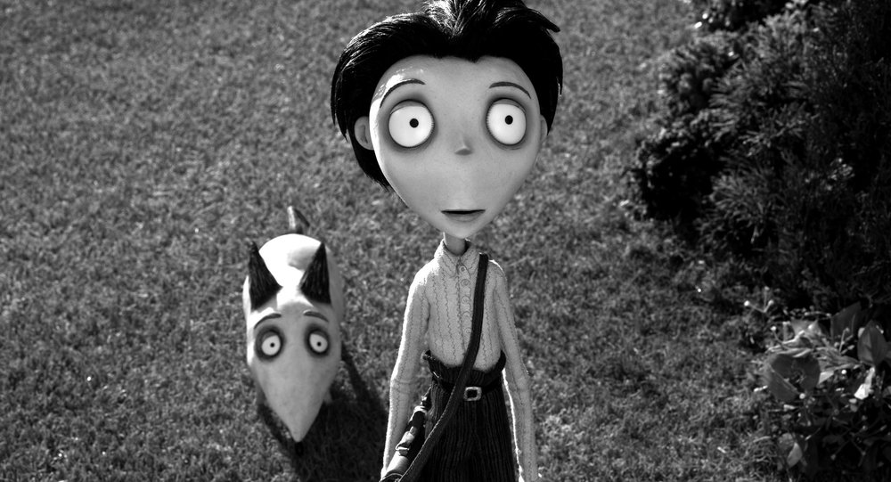 Fig. 1 -  Frankenweenie  (Tim Burton, 2012).