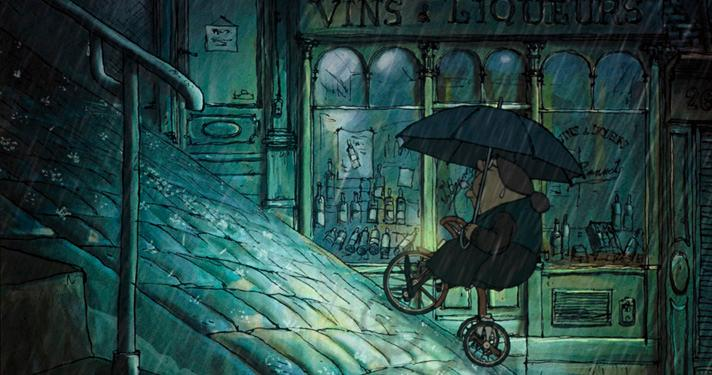 The Triplets of Belleville  (Sylvain Chomet, 2003).