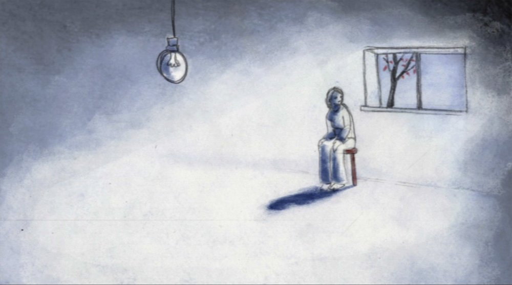 Fig. 1 - Animation helps evoke the experience of depression in  That Light Bulb Thing  ( Animated Minds , dir. Andy Glynne, 2003).
