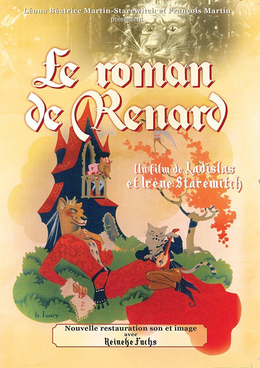 Le Roman de Renard  (Ladislas & Irène Starewitch. 1941).