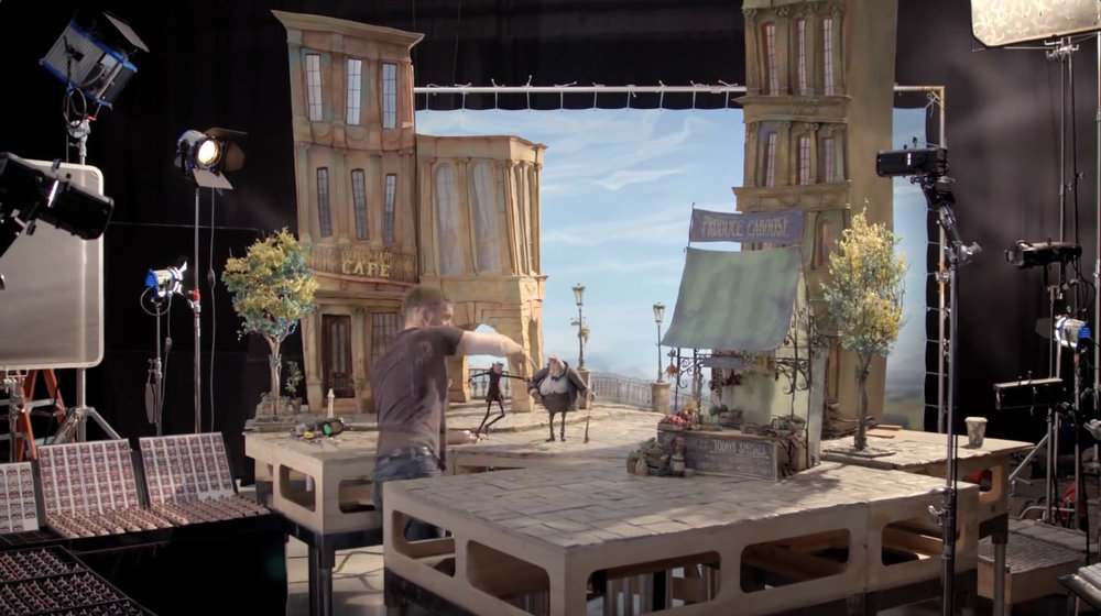 Fig. 2 - The time-lapse post-credits sequence of  The Boxtrolls  (Graham Annable and Anthony Stacchi, 2014).
