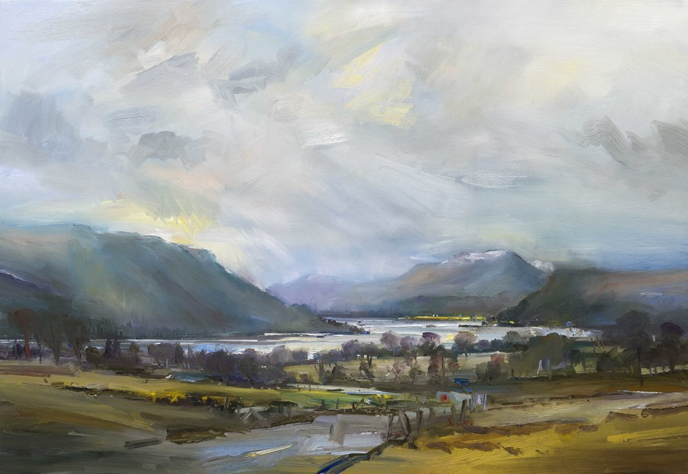 1. The Road to Ullswater Lake District 90x130 oc.jpg