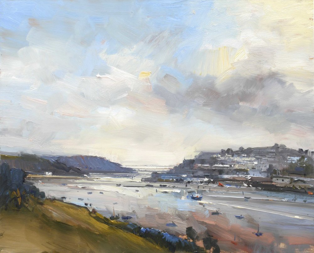 8.View to the Sea in Autumn. Salcombe. Devon 61x76cm copy 4.jpg