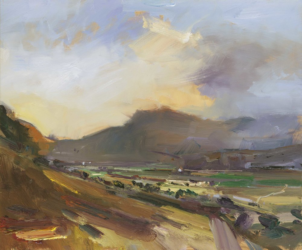 10. Towards Evening Langdale Lake District. 51x61 ob copy.jpg