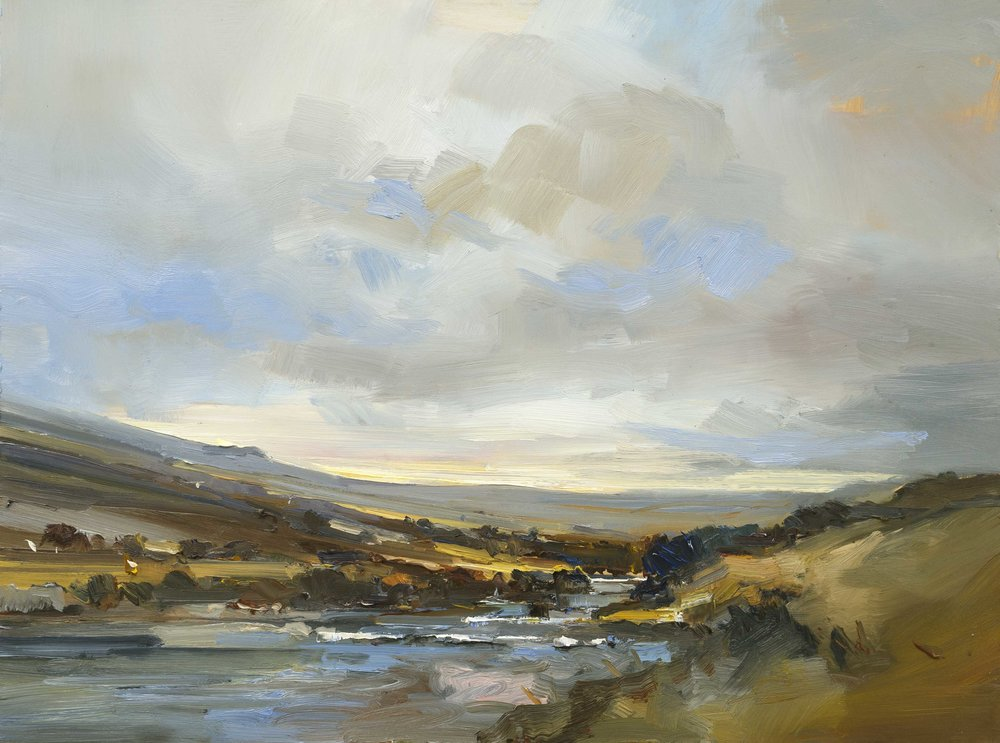 17. By a River on Dartmoor. 61x81 ob copy.jpg