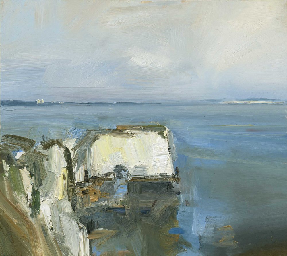 22.Morning Ligtht Old Harry Rocks. 41x46 ob copy.jpg
