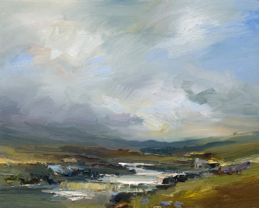 Autumn on Rannoch Moor. 61x76cm oil on board