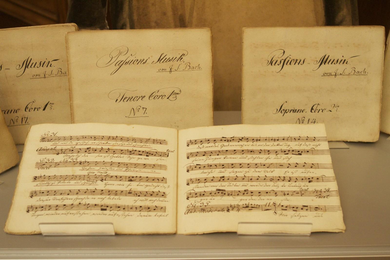 Original Librettos of Bach's Passion Arias