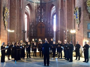 Chicago Chorale performing at St. Peter's Church in Riga, Latvia, July 2015