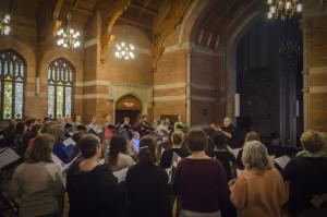 Chorale rehearsal 515